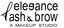 elegance lash and brow Logo